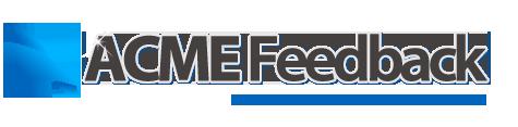 ACME Feedback Plugin For WordPress